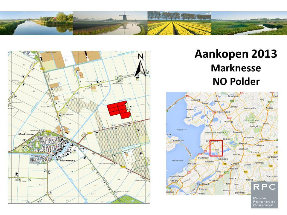 Aankopen 2013 Marknesse NO Polder