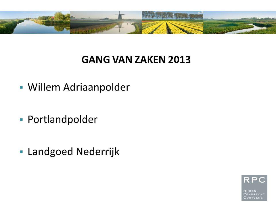 Willem Adriaanpolder Portlandpolder Landgoed Nederrijk
