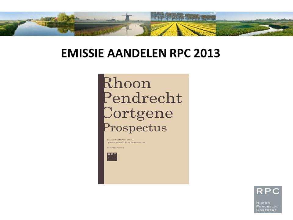 EMISSIE AANDELEN RPC 2013
