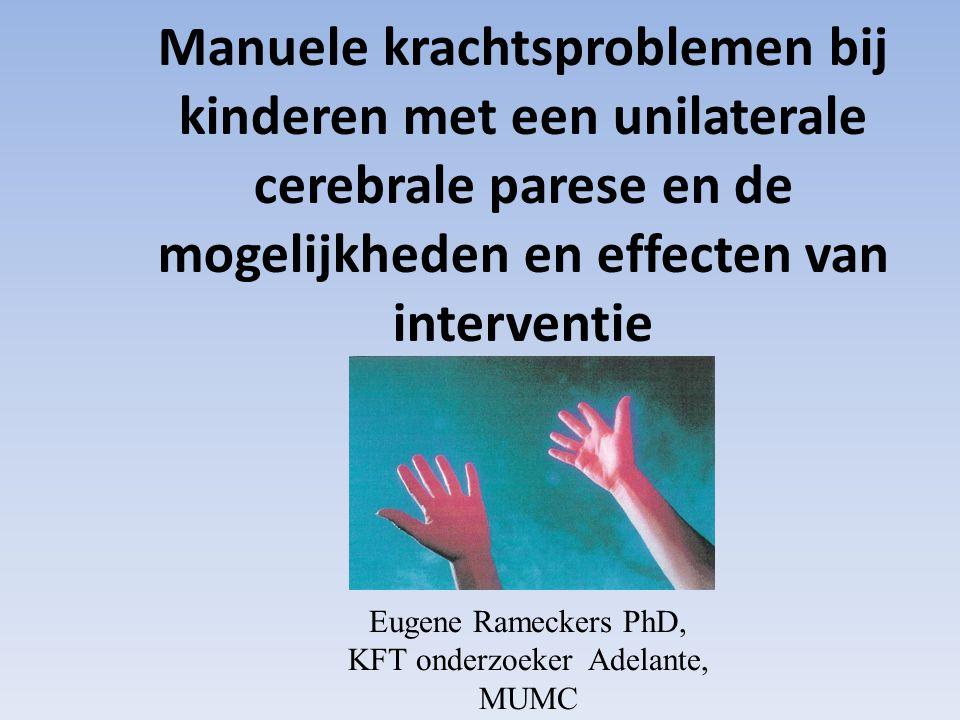 Eugene Rameckers PhD, KFT onderzoeker Adelante, MUMC