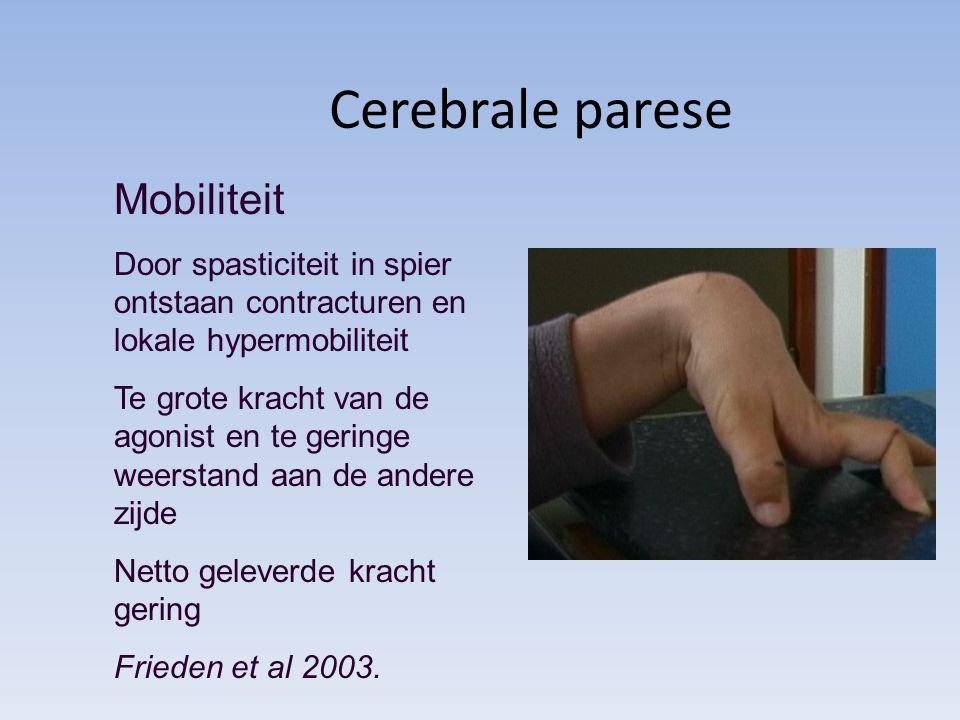 Cerebrale parese Mobiliteit