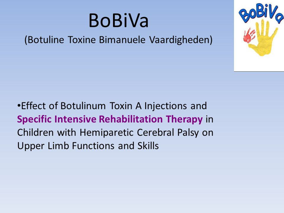 BoBiVa (Botuline Toxine Bimanuele Vaardigheden)