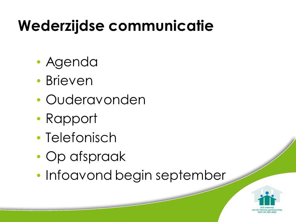 Wederzijdse communicatie