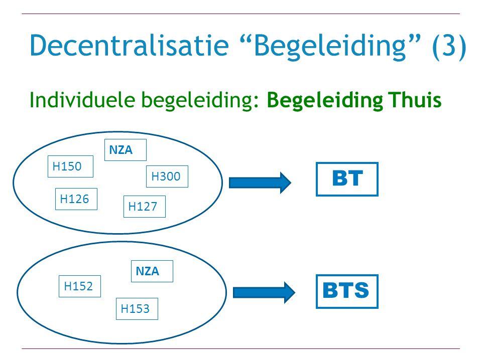 Decentralisatie Begeleiding (3)