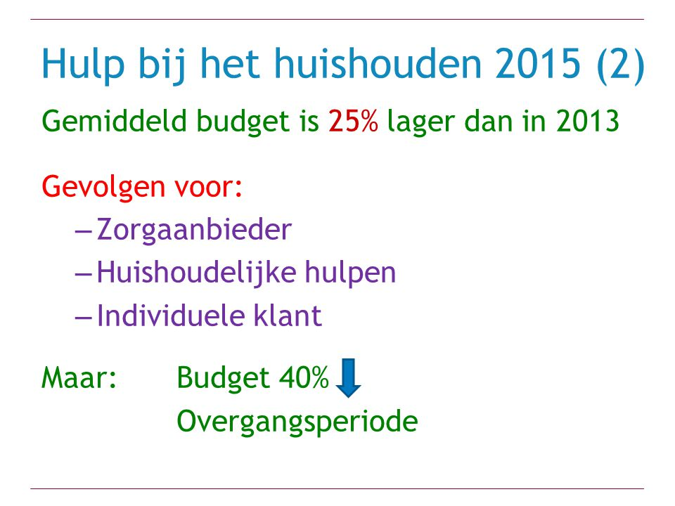Hulp bij het huishouden 2015 (2)