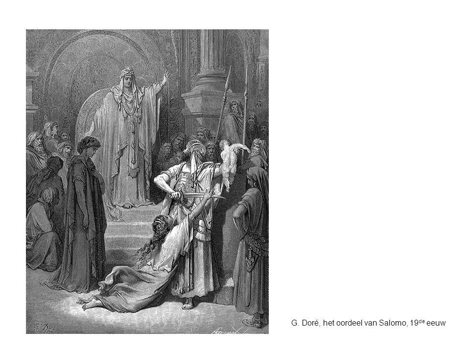 G. Doré, het oordeel van Salomo, 19de eeuw