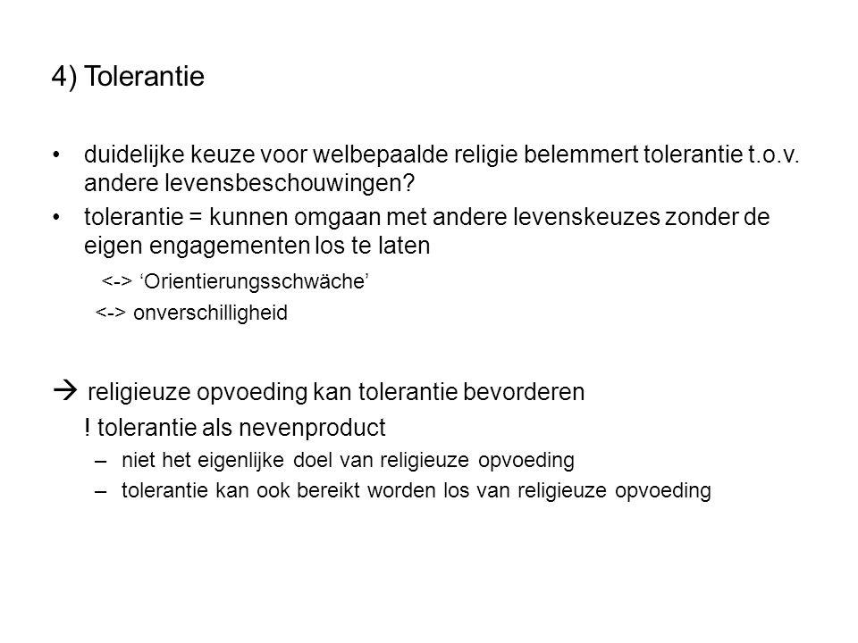  religieuze opvoeding kan tolerantie bevorderen