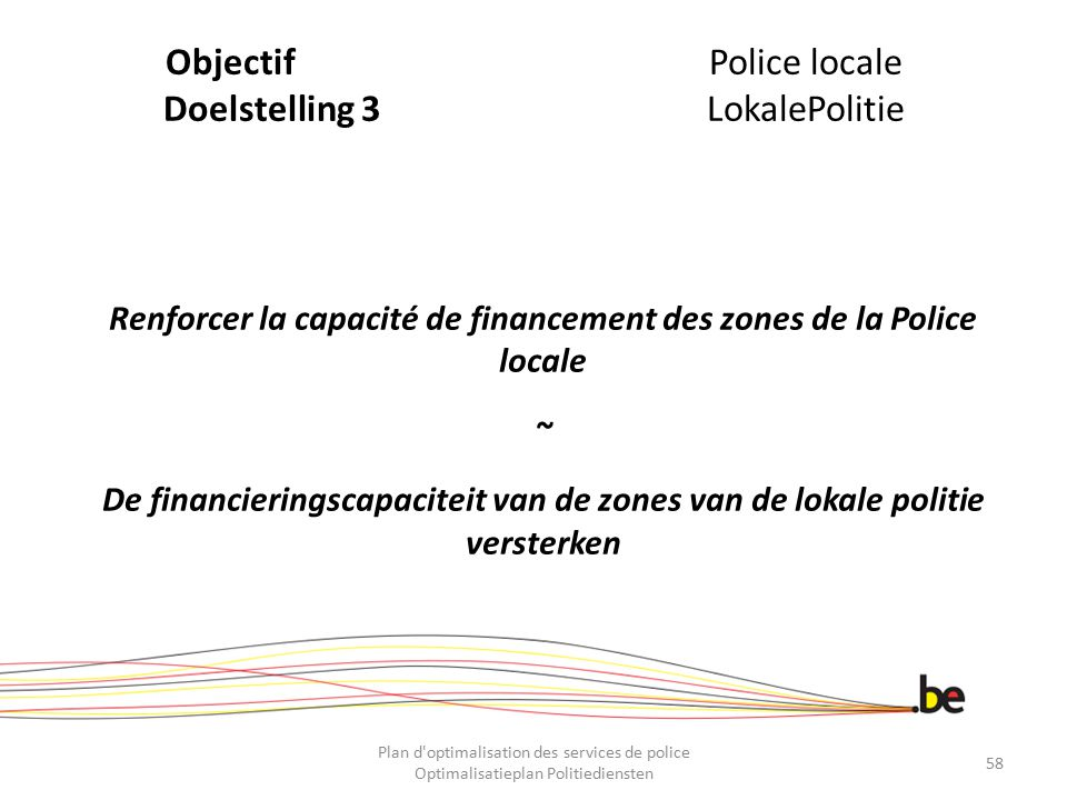 Objectif Police locale Doelstelling 3 LokalePolitie