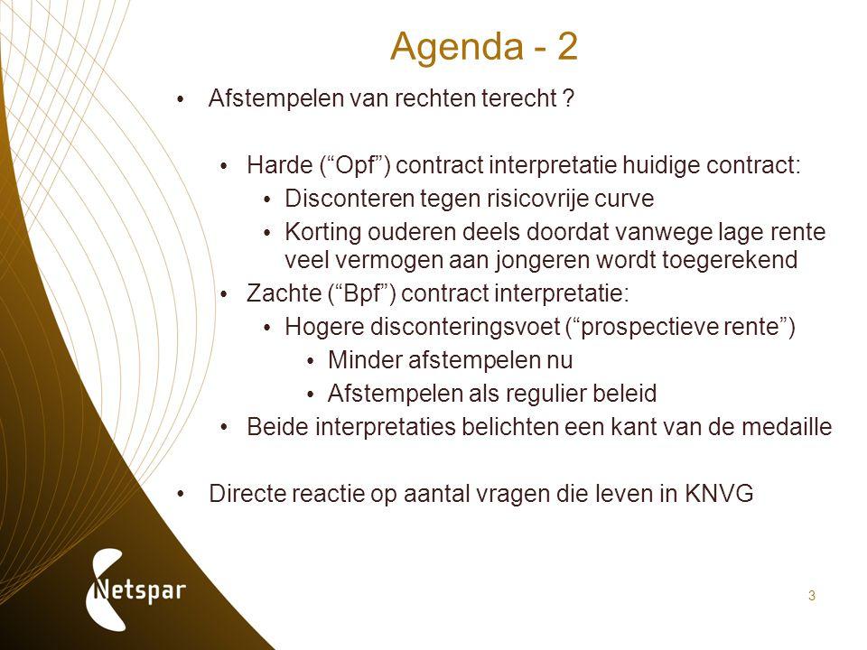 Agenda - 2 Afstempelen van rechten terecht