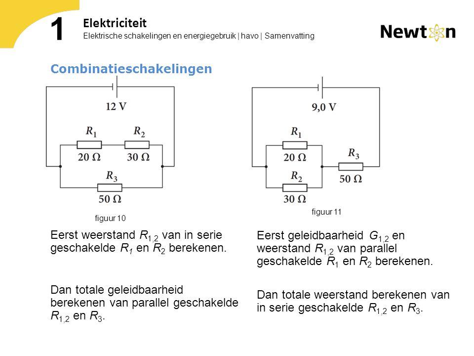 1 Elektriciteit Combinatieschakelingen