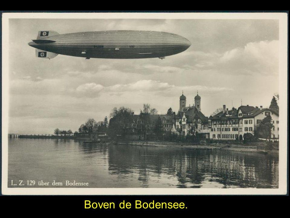 Boven de Bodensee.
