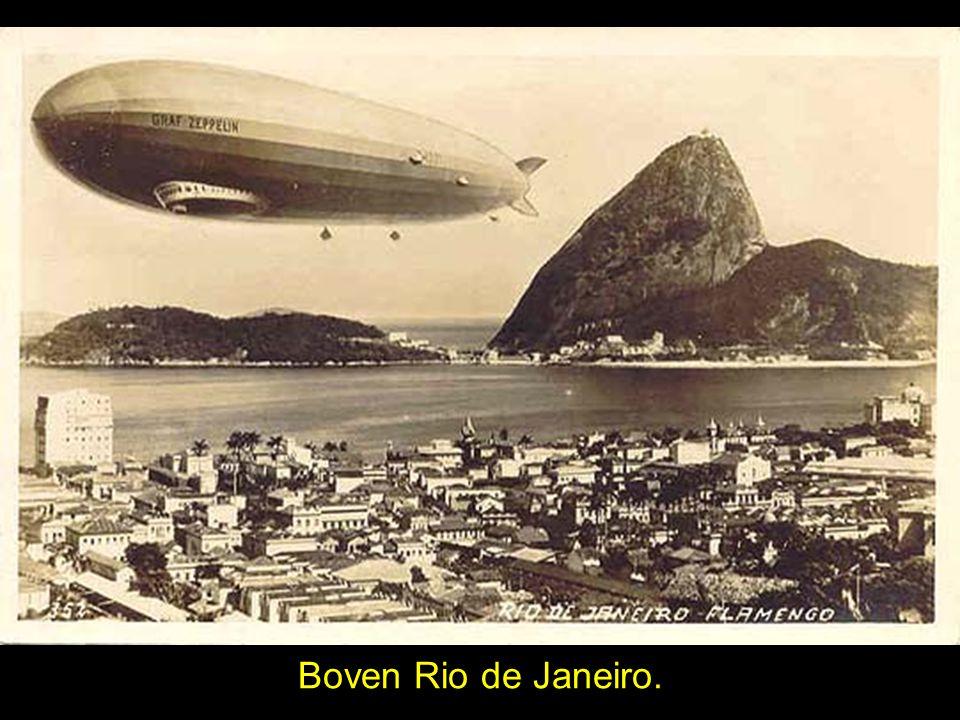 Boven Rio de Janeiro.