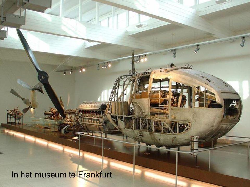 In het museum te Frankfurt
