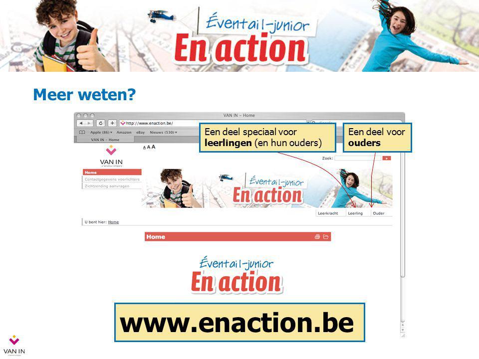 www.enaction.be Meer weten