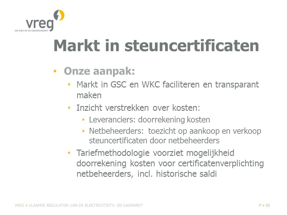 Markt in steuncertificaten