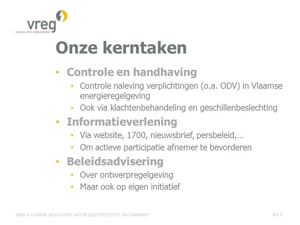 Onze kerntaken Controle en handhaving Informatieverlening