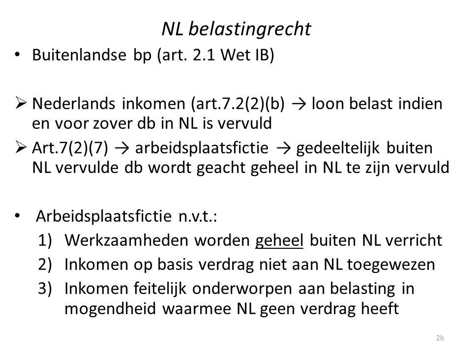 NL belastingrecht Buitenlandse bp (art. 2.1 Wet IB)