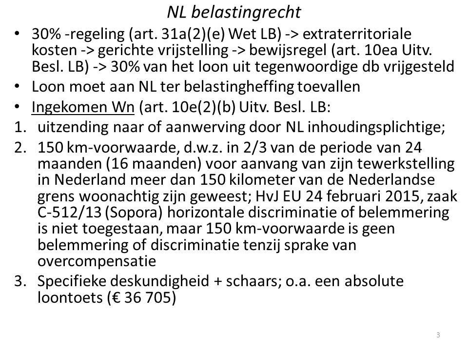 NL belastingrecht