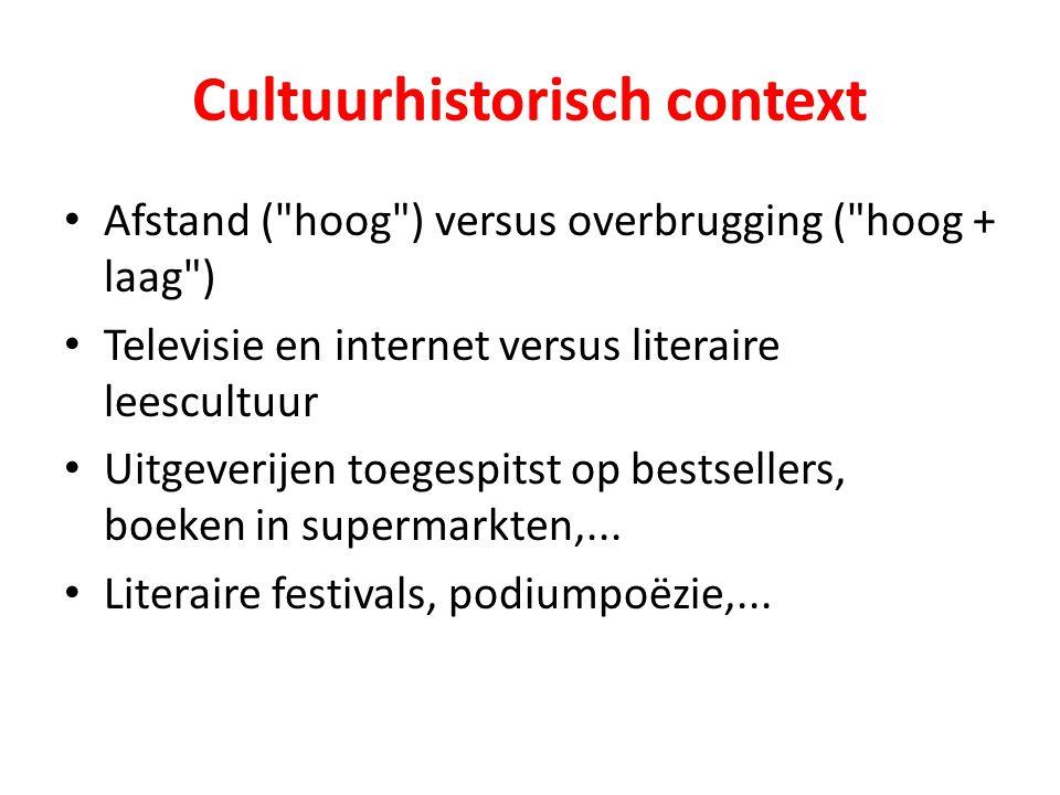 Cultuurhistorisch context