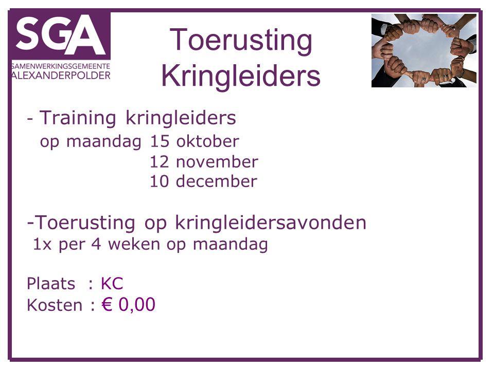 Toerusting Kringleiders