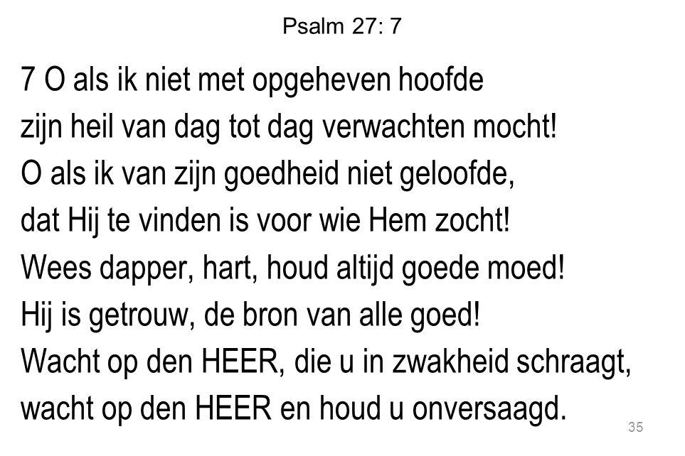 Psalm 27: 7