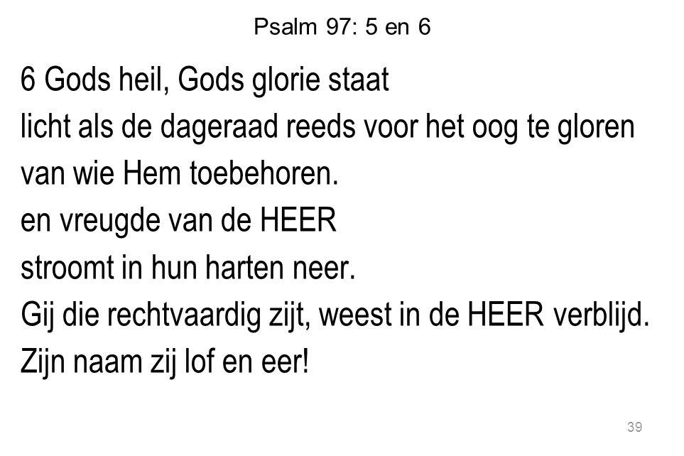 Psalm 97: 5 en 6