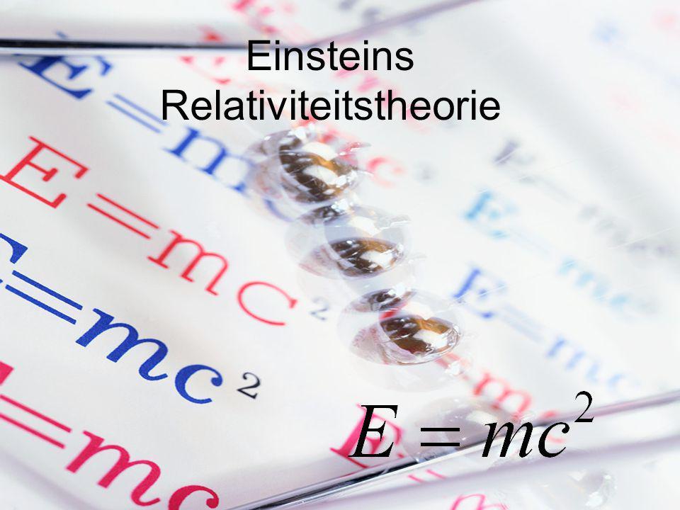 Einsteins Relativiteitstheorie