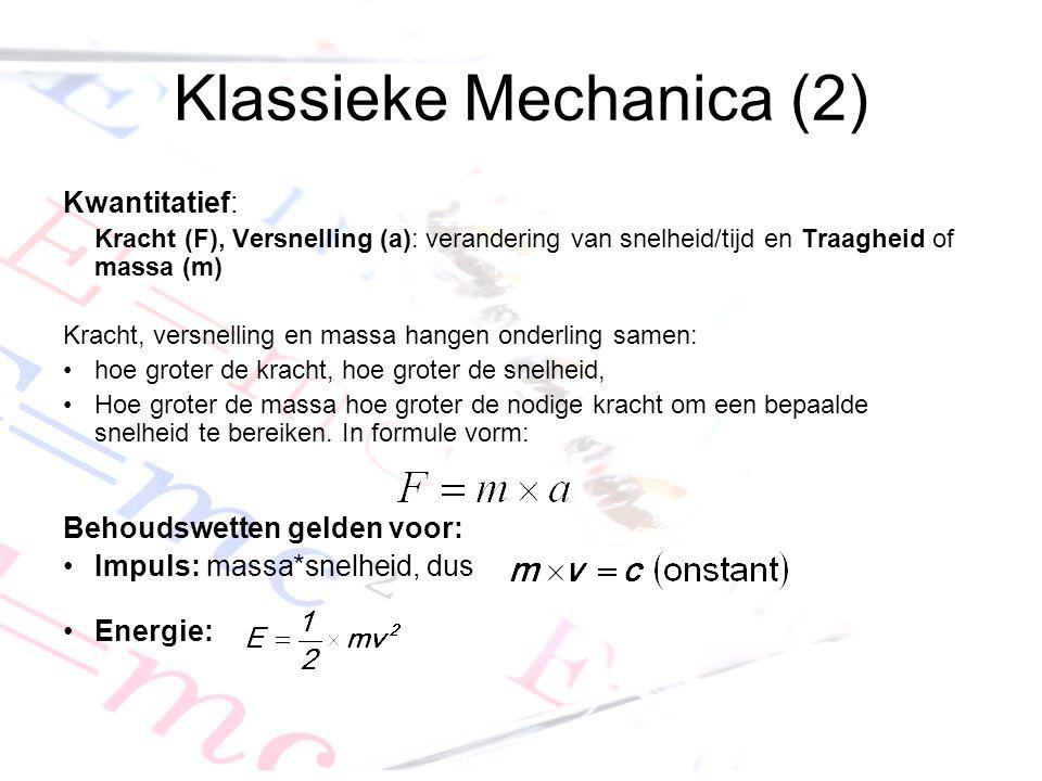 Klassieke Mechanica (2)