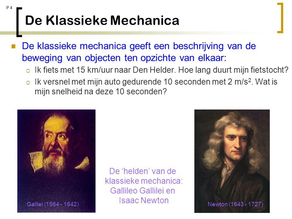 De Klassieke Mechanica