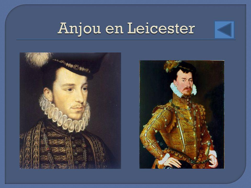 Anjou en Leicester