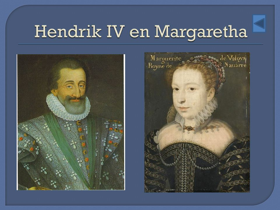 Hendrik IV en Margaretha