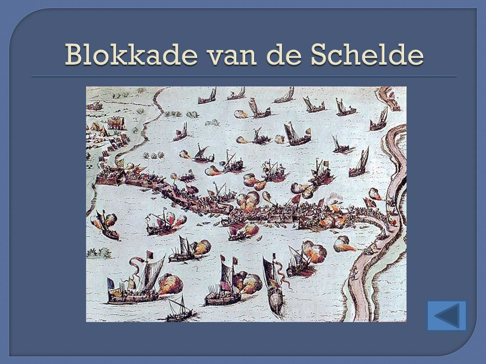 Blokkade van de Schelde