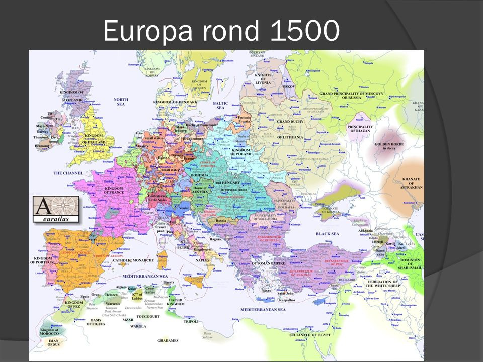 Europa rond 1500