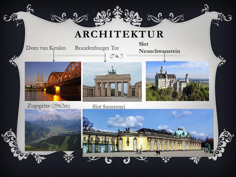 Architektur Slot Neuschwanstein Dom van Keulen Brandenburger Tor