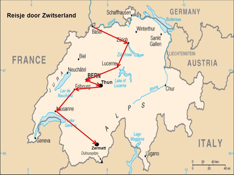 Reisje door Zwitserland