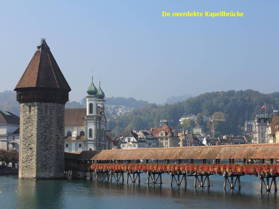 De overdekte Kapellbrücke