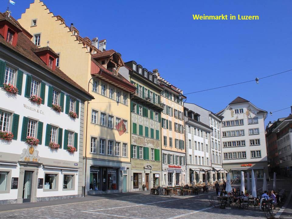 Weinmarkt in Luzern