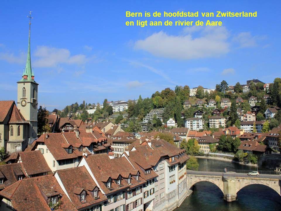 Bern is de hoofdstad van Zwitserland