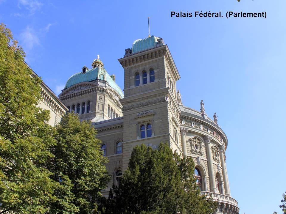 Palais Fédéral. (Parlement)