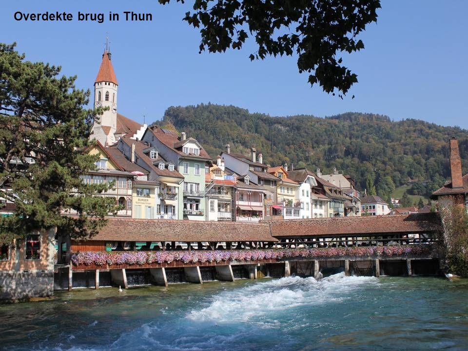 Overdekte brug in Thun