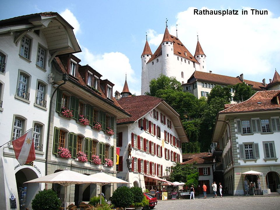 Rathausplatz in Thun