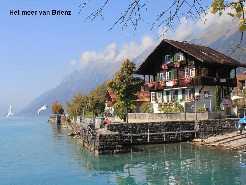 Het meer van Brienz