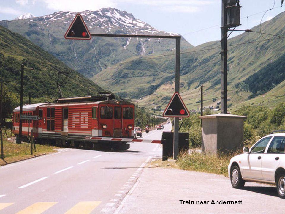 Trein naar Andermatt