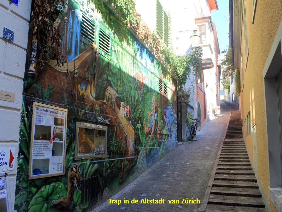 Trap in de Altstadt van Zürich