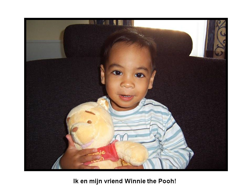 Ik en mijn vriend Winnie the Pooh!