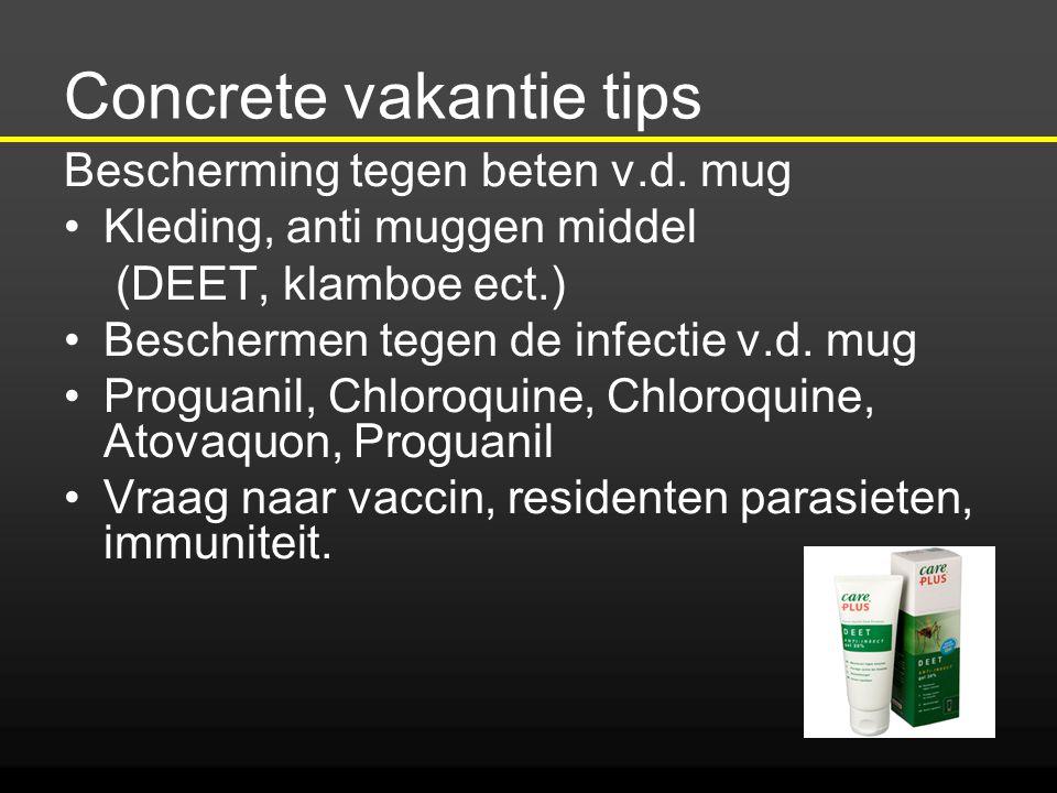 Concrete vakantie tips