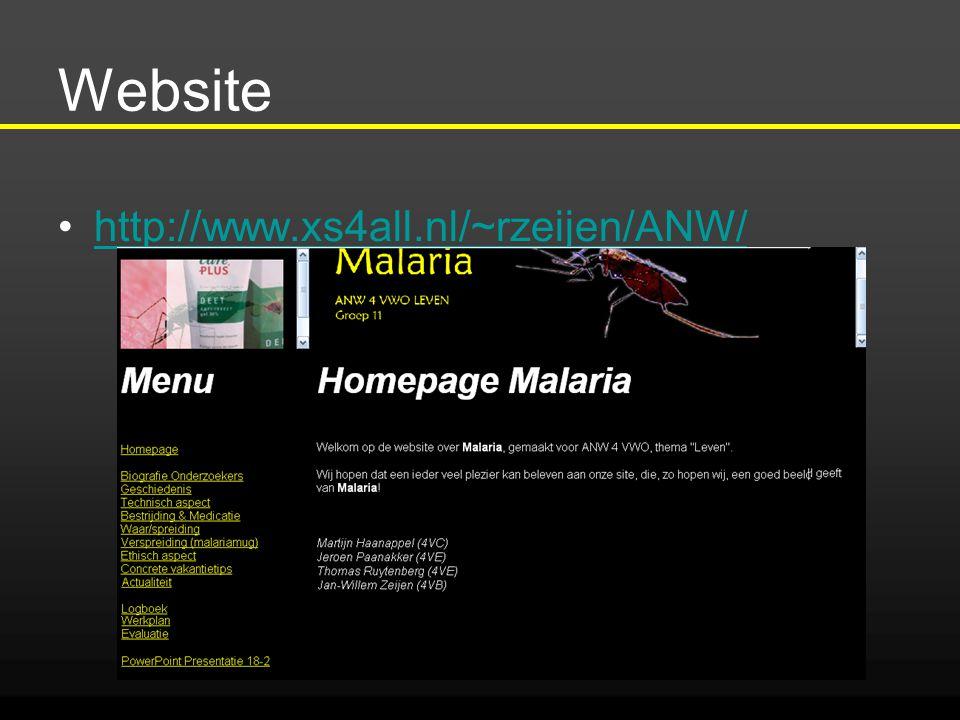 Website http://www.xs4all.nl/~rzeijen/ANW/