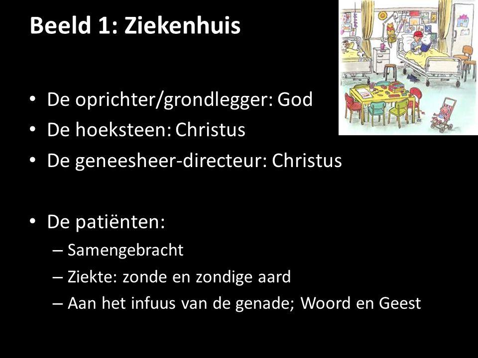Beeld 1: Ziekenhuis De oprichter/grondlegger: God