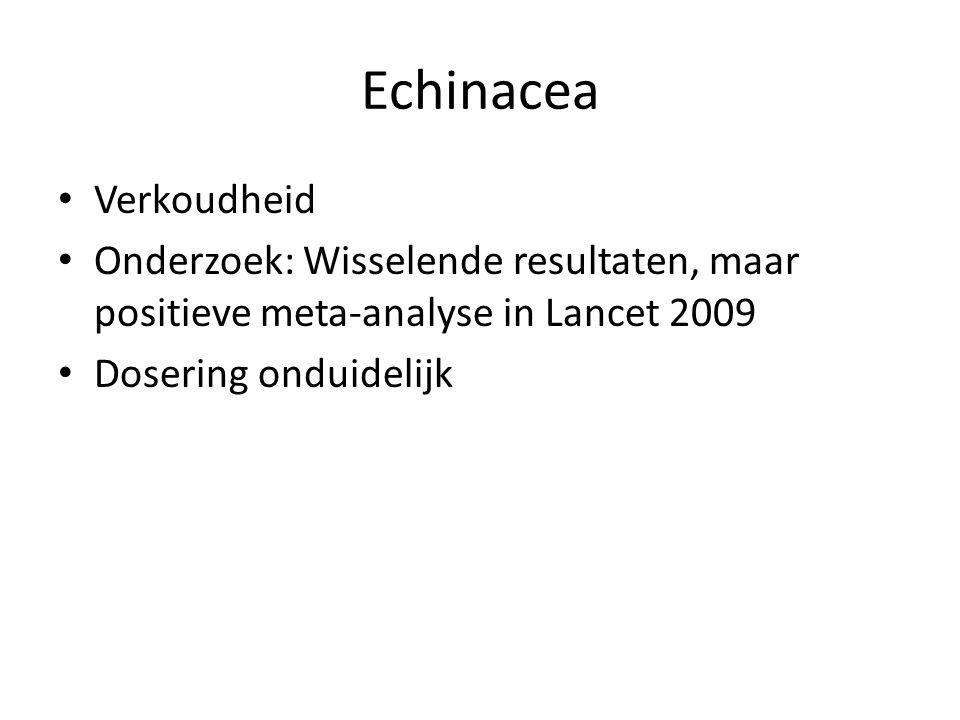 Echinacea Verkoudheid