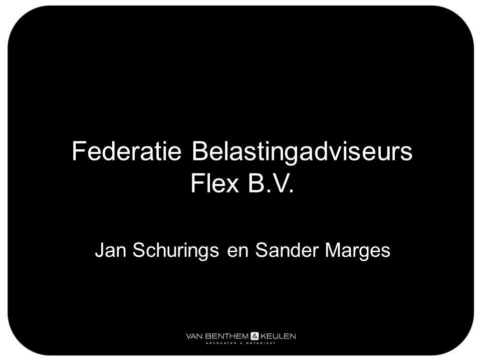 Federatie Belastingadviseurs Flex B.V.